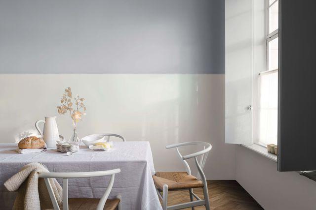 Peinture Dulux Valentine : bleu gris, la couleur de l\'année | Wall ...