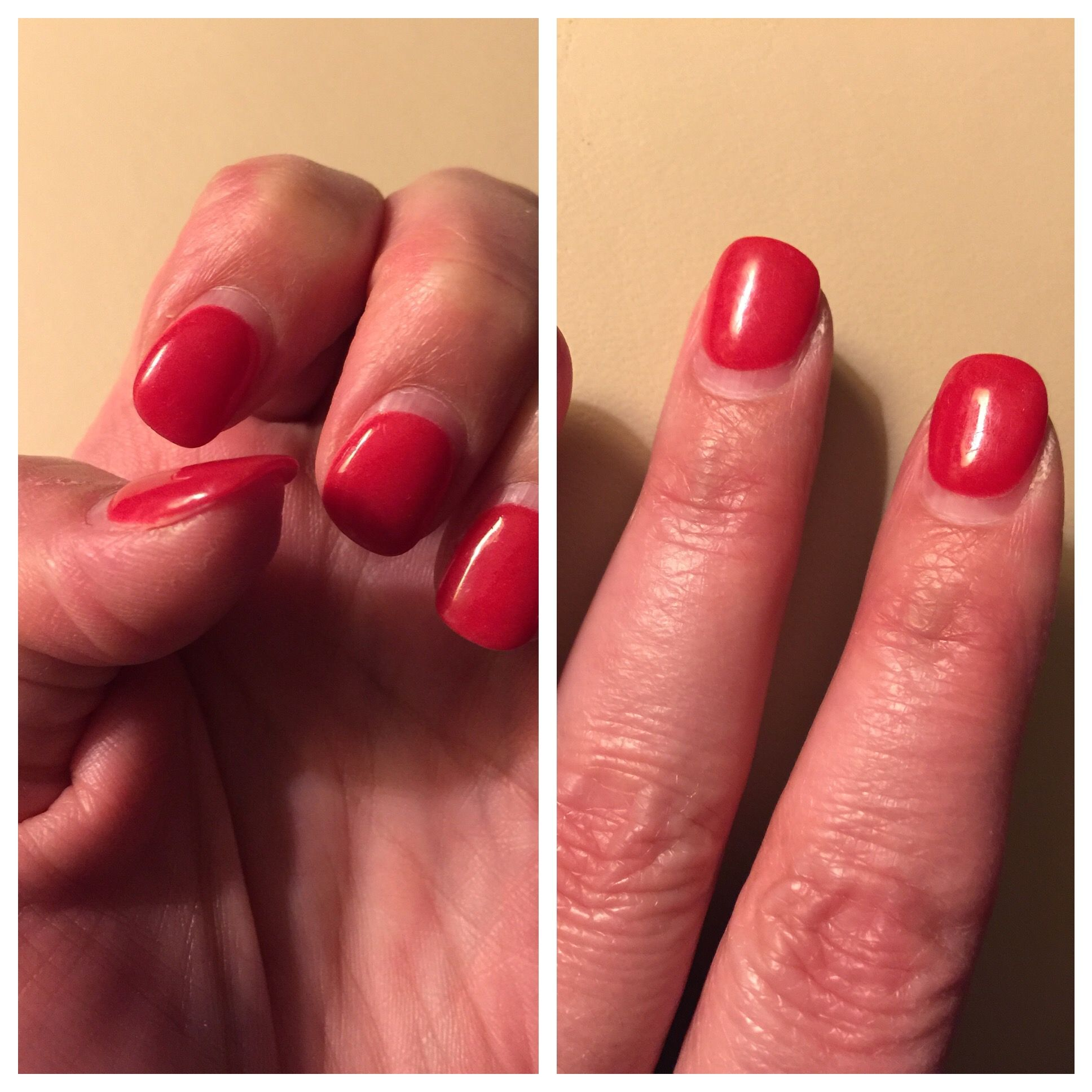 NexGen nails after four weeks. Still look good and still very strong ...