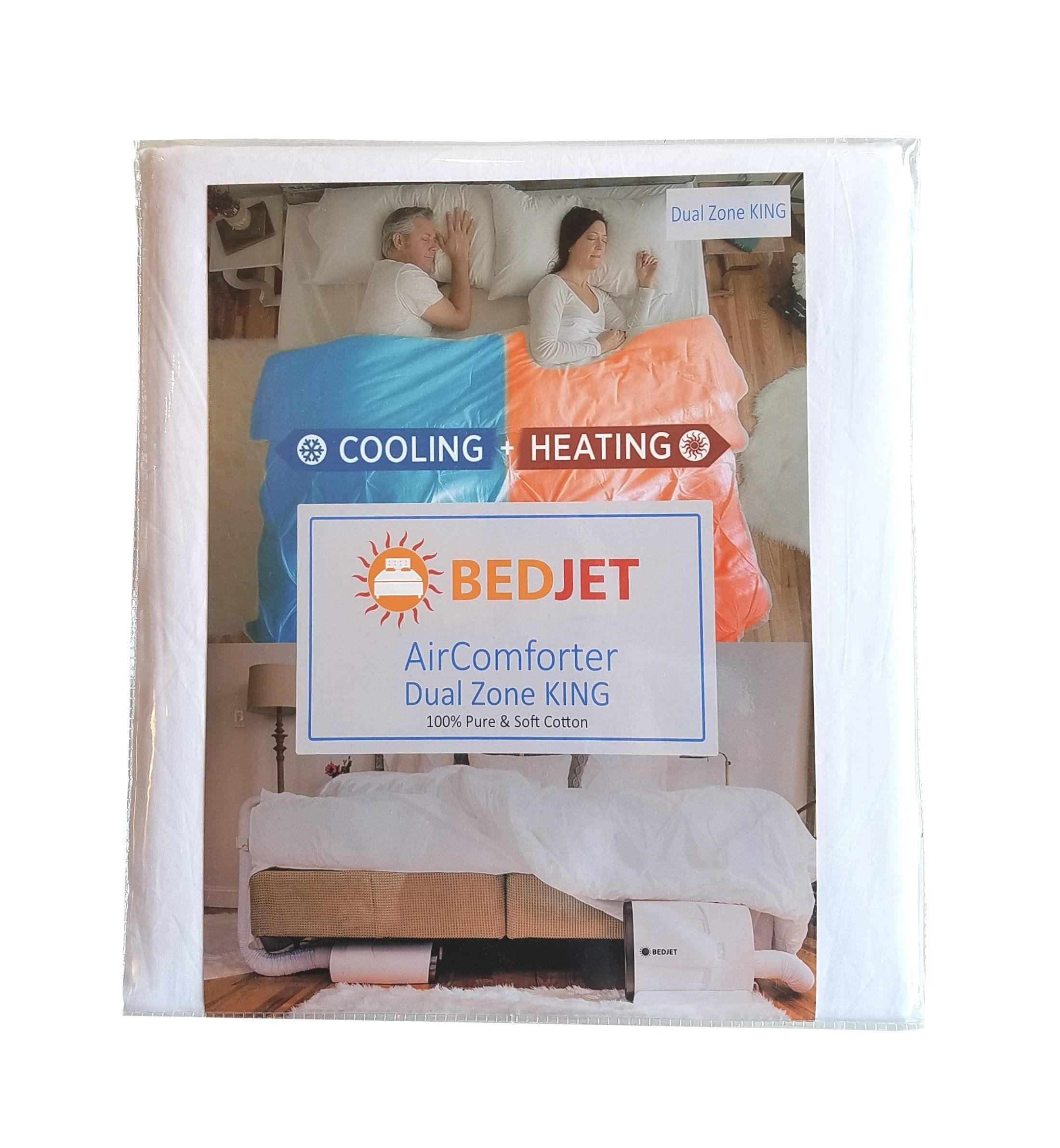 Bedjet Aircomforter Cooling And Heating Sheet Dual Zone King Not