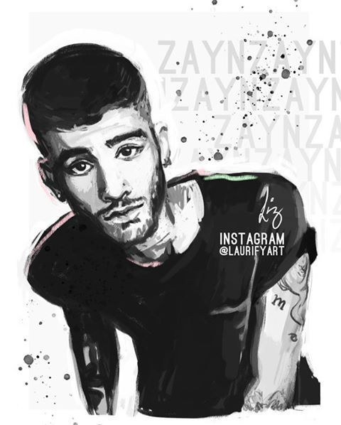 tRuTh @zayn #fanart #zaynfanart via @laurifyart