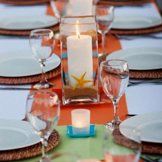 Low Budget Wedding Reception Ideas: Beach Wedding Tables, Beach Wedding