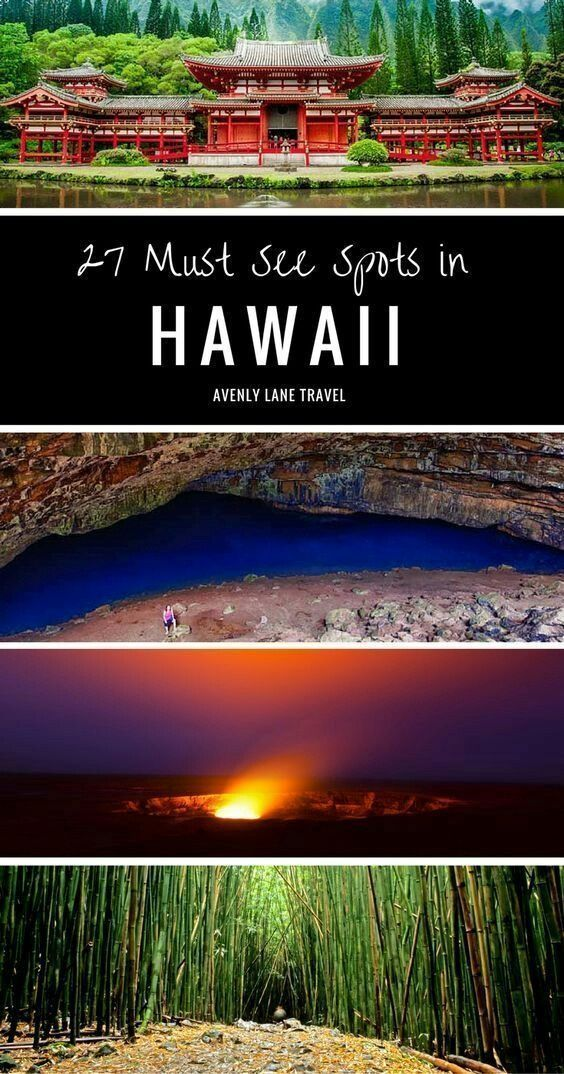 27 Of The Most Incredible Places To Visit In Hawaii | Hawaii travel, Travel destinations beach, Vaca