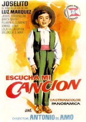 Escucha Mi Canción 1961 Programa De Cine Carteleras De Cine Cine