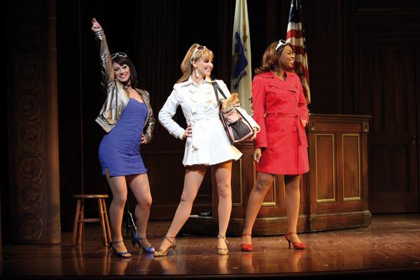 Legally Blonde Serena Margot And Pilar At The Trial Legally