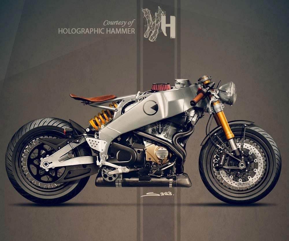 Buell Firebolt XB12R Concept by Holographic Hammer  492672c8be