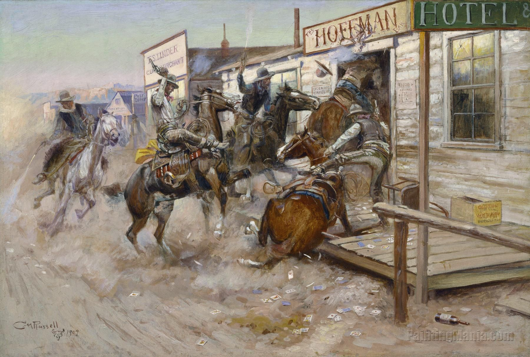 American Chronicles The Art Of Norman Rockwell Cowboy Artists