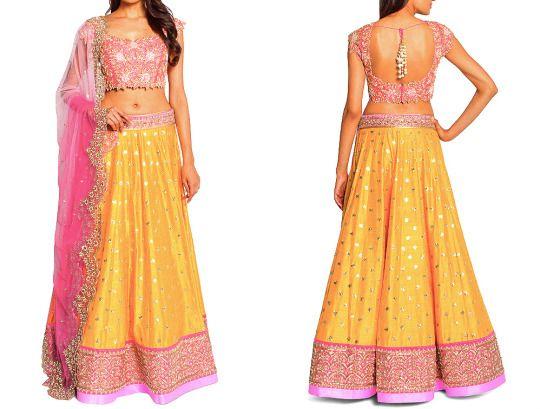 Mehndi Bridal Lehnga : Anushree reddy desi bridal shaadi indian pakistani wedding mehndi
