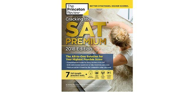PDF DOWNLOAD Cracking The SAT Premium Edition With 7 Practice Tests 2018 FOR IPAD