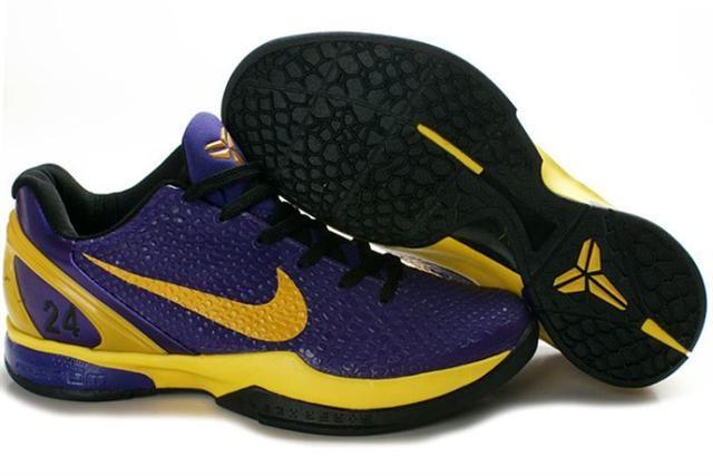 meet 33f06 d46c8 Ken Griffey Shoes Nike Zoom Kobe 6 Imperial Purple Yellow Nike Zoom Kobe 6  - The Nike Zoom Kobe 6 Imperial Purple Yellow shoe is drenched in an  imperial ...