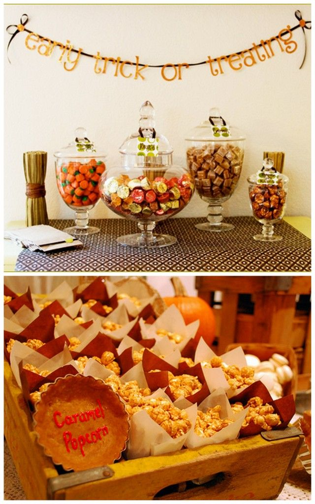 fall bridal shower ideas and inspiration not so big on the giant pile of candy but caramel corn would be fun