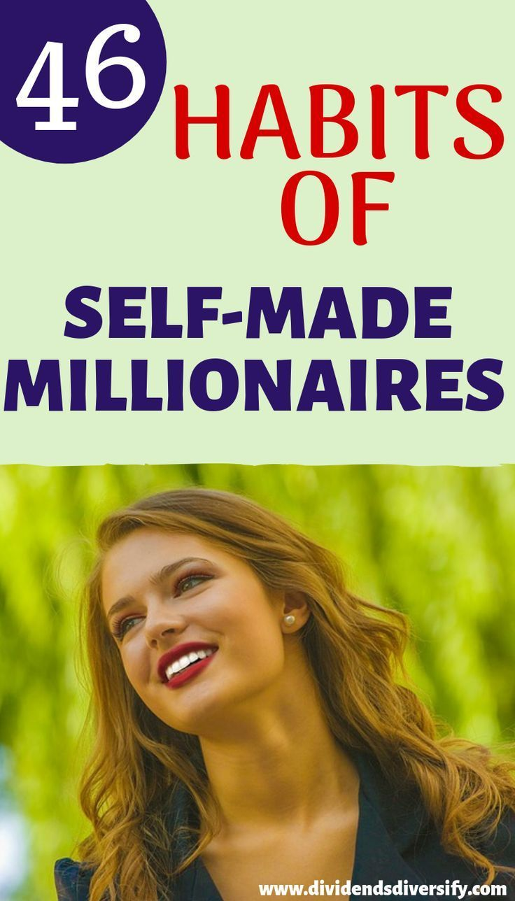 SelfMade Millionaires Self made millionaire, How to get