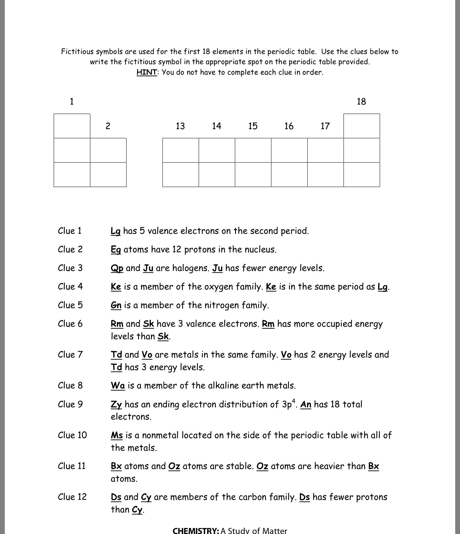 Periodic Trends Atomic Radius Worksheet Answer Key