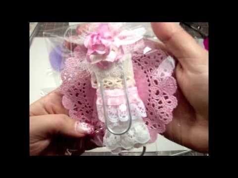 How to Alter Paper Clips - Quick Tutorial Lace & Trims Storage