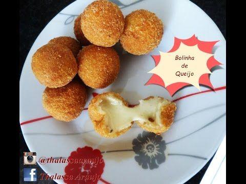 Bolinhas de queijo sem massa NOVA VERSÃO - YouTube