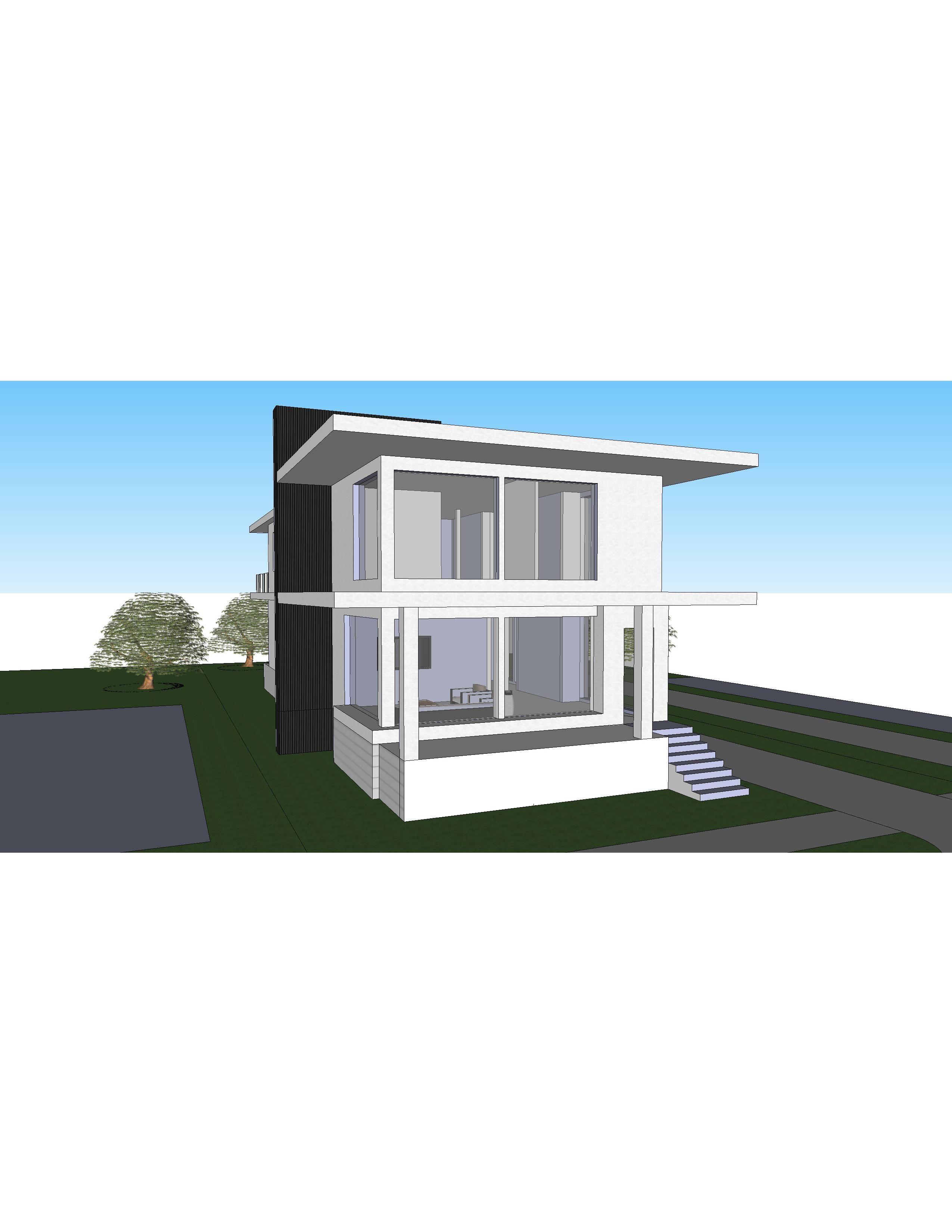 Granny Duplex: Sketchup Model