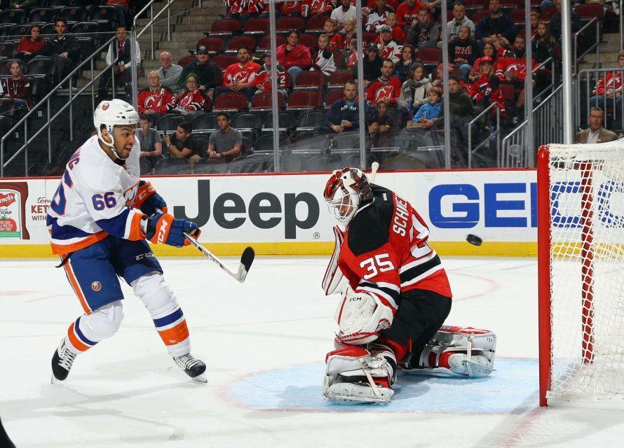 Islanders vs. Devils New jersey devils, New york
