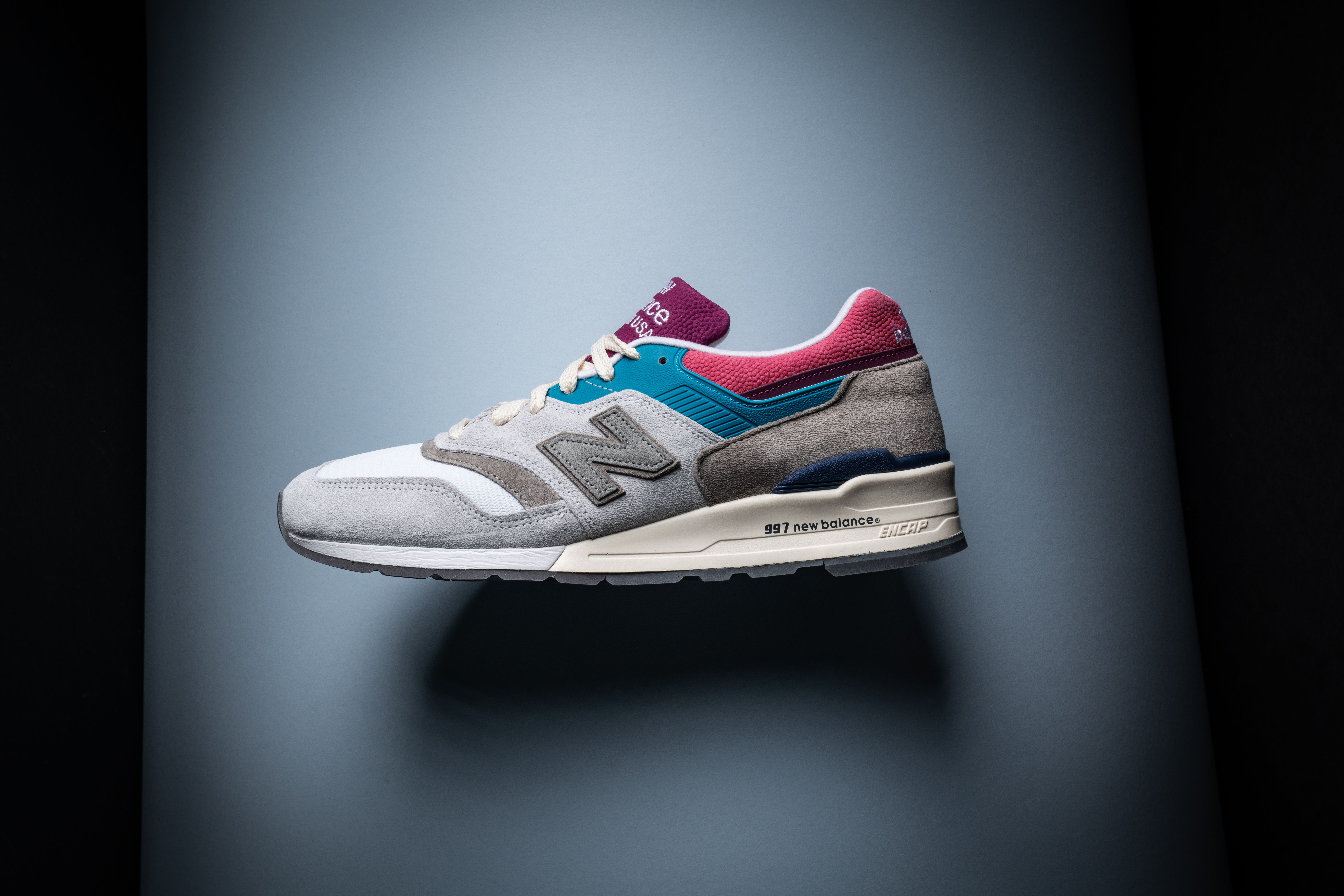 3bb9a4821b339 Aimé Leon Dore paired with New Balance this spring for two colorways of the  997,