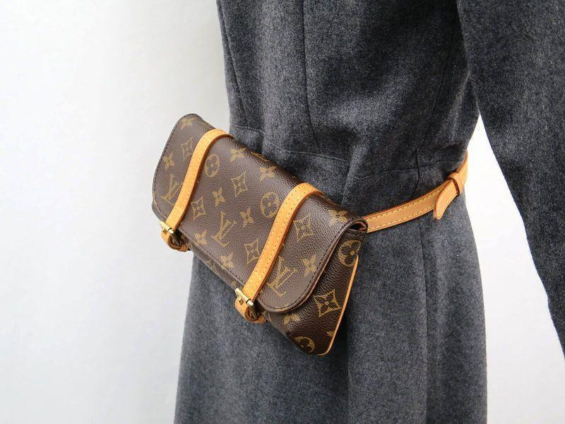 d3b3475a2d7d LOUIS VUITTON Pochette Marelle Bum Bag Monogram M51159 (BF104442 ...