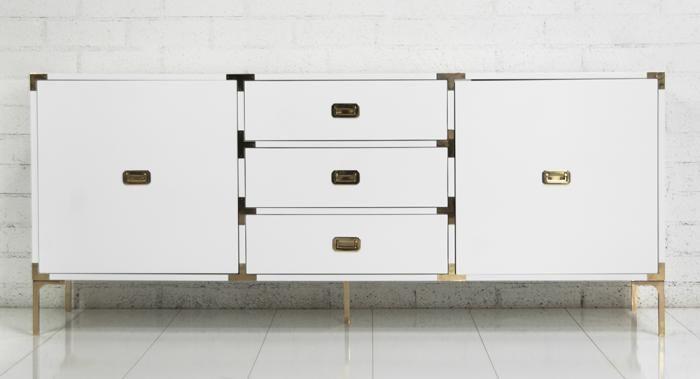 Modern Furniture Hardware storage furniture - jet setter credenza i roomservicestore