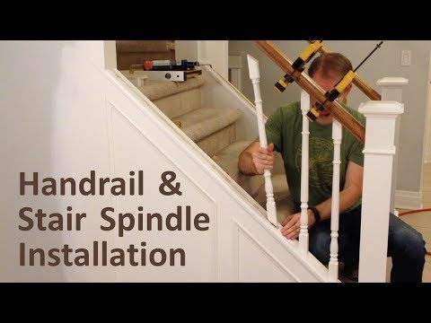 Merveilleux Installing Stair Rails   Menards   YouTube