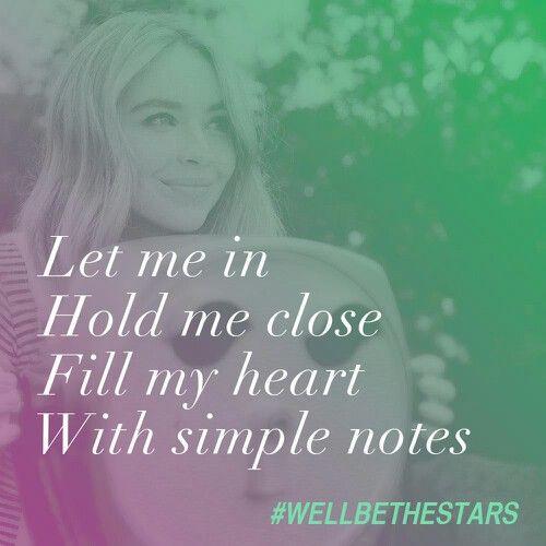 We'll Be the Stars - Sabrina Carpenter