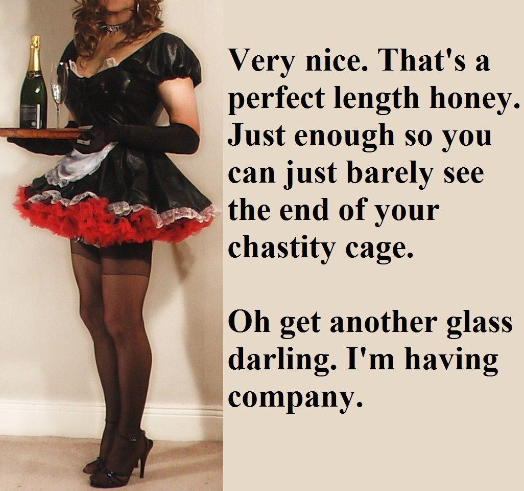 Chastity sissy