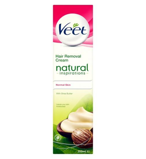 Veet Hair Removal Cream Natural Inspirations Normal Skin With Shea