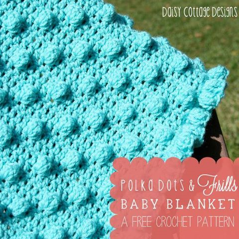 Babies Love The Texture Of The Bobbles On This Cute Baby Blanket
