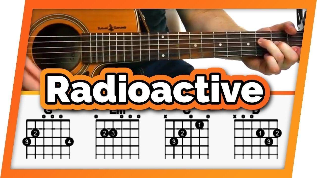 Radioactive Imagine Dragons Guitar Tutorial Lesson For