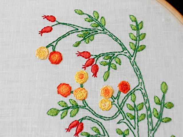 Mybearpaw Embroidery Stitch Tutorial Im In Love With Her Blog