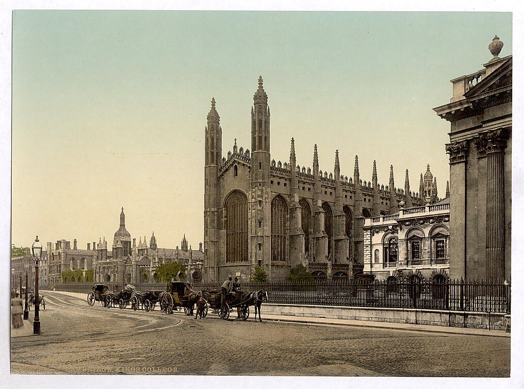 [King's College, Cambridge, England] King's college