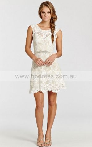 Short Spring Wedding Dress