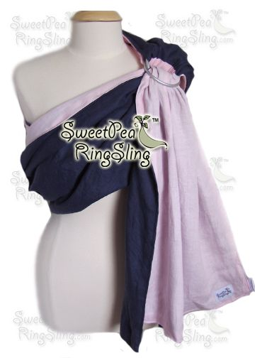 Linen - SweetPea Ring Slings™ Linen baby sling, great for summer!  Babywearing Wrap