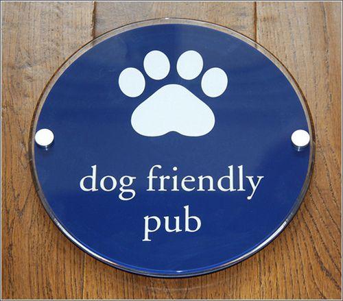 Dog Friendly Pub Sign Dog Friends Pub Signs Pub