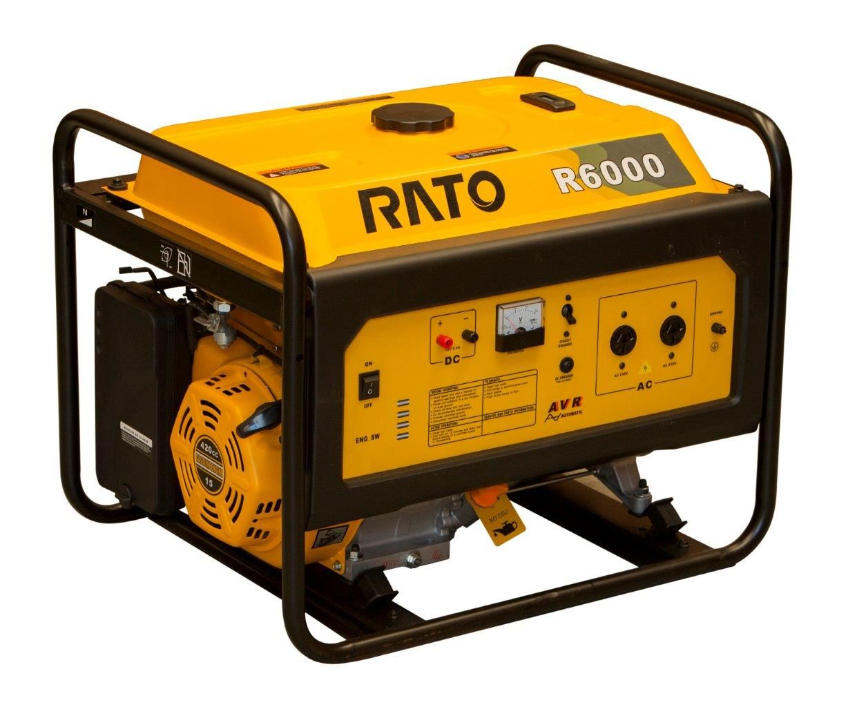 Generator R6000 6kw Petrol Rato Australia The Home Of Wiring Diagram Further Wen In High Quality Engines