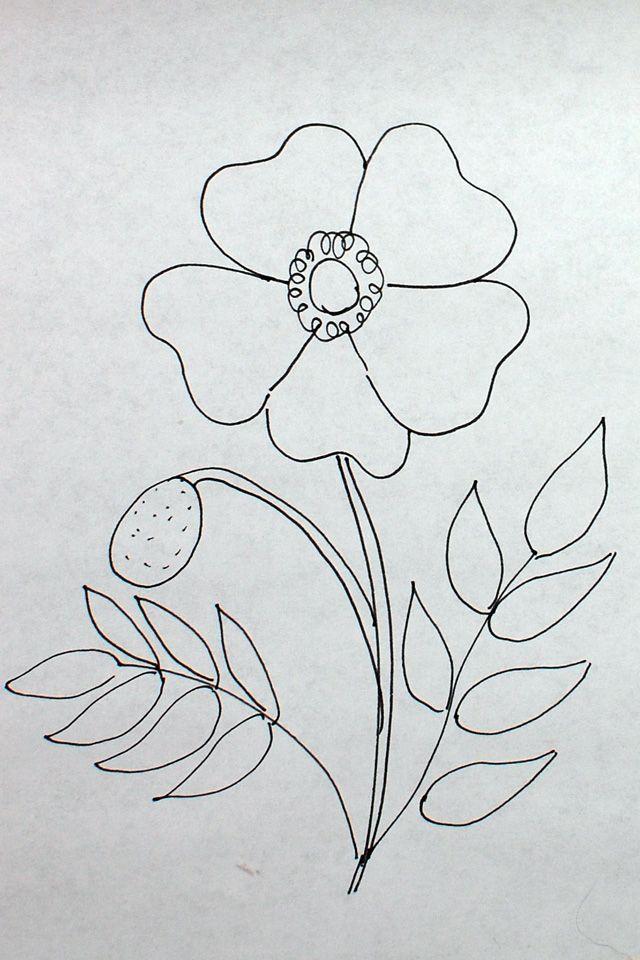 Dimensional Flowers: Poppies   Patrones De Bordado   Pinterest ...