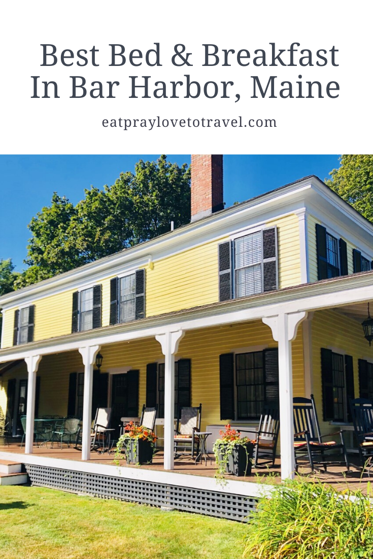 The Yellow House Bed & Breakfast Experience Bar Harbor