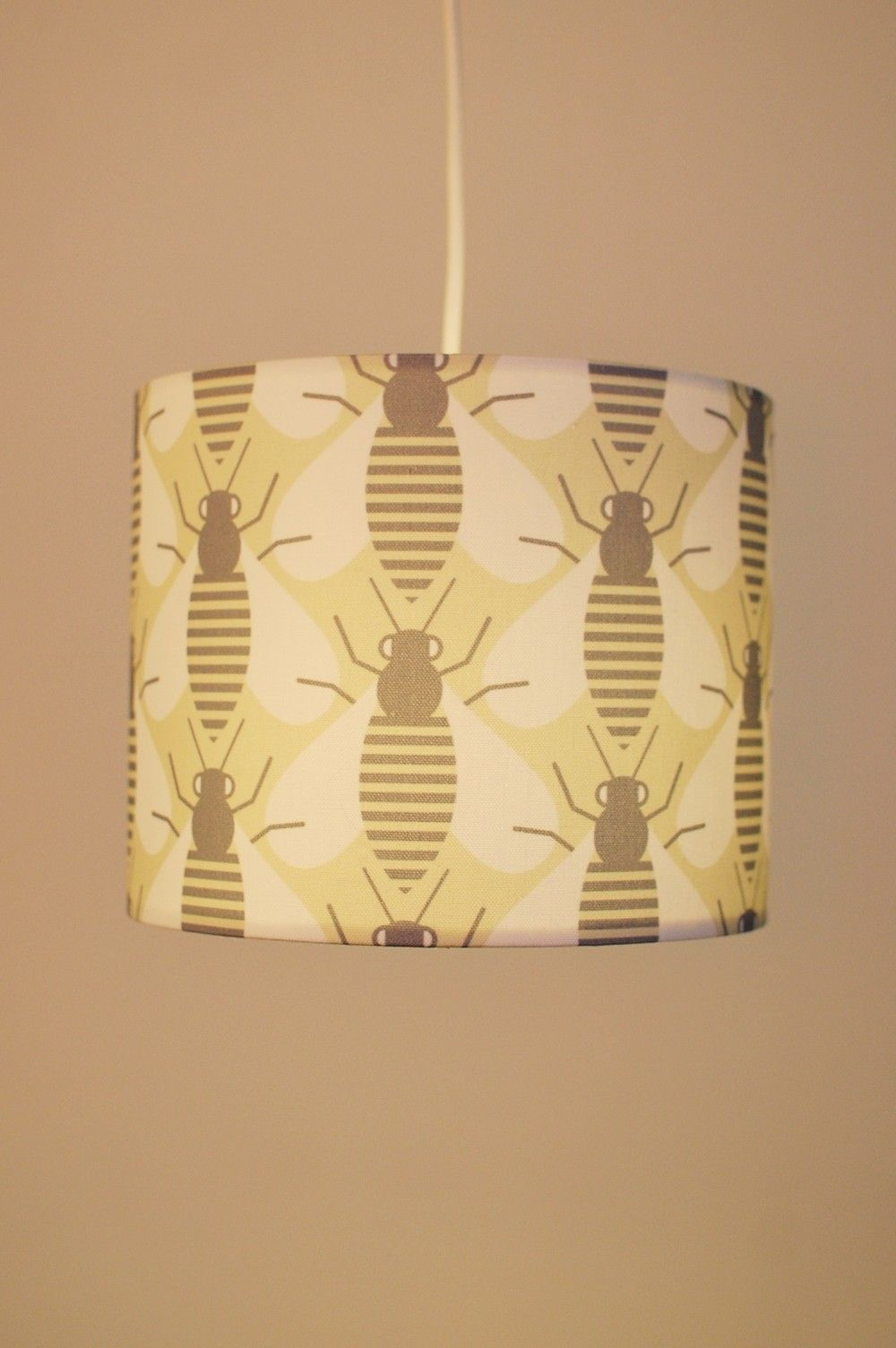 Printed bee lamp shade (With images) Small bees, Bees