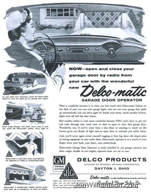 General Motors Delco Matic Garage Door Operator General Motors