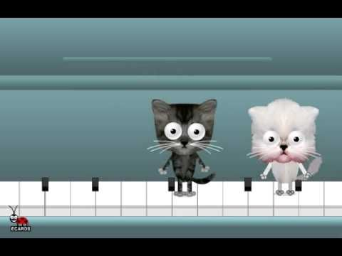 Birthday Free Funny Animated Greeting Cats Dancing Ecard Ladybugecards