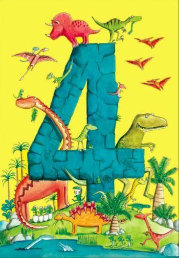 Dinosaur Birthday Card Trend
