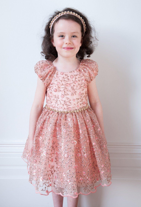 Girls Designer Dresses by David Charles Childrens Wear. Special ...