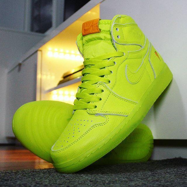 Go check out my Air Jordan 1 Retro Gatorade Lemon Lime on feet ... 8981be90a