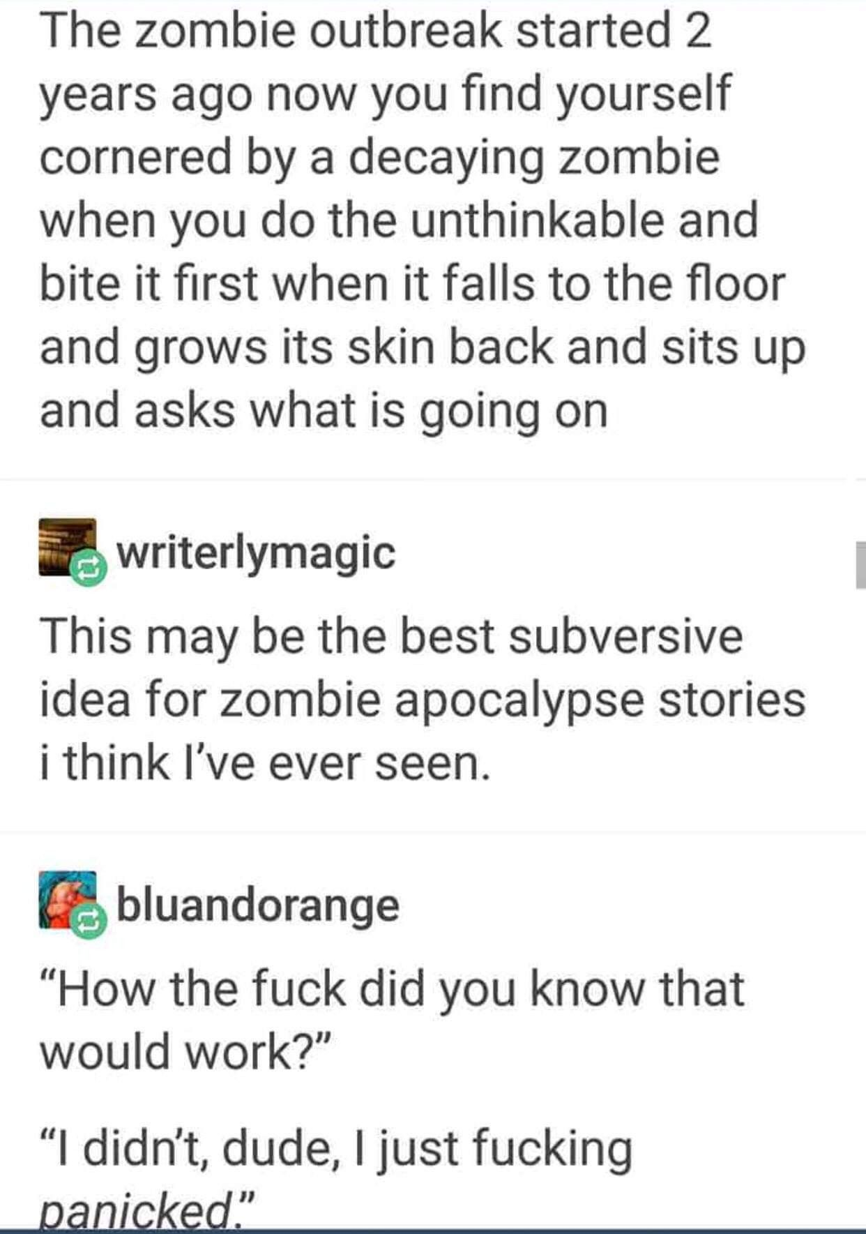 zombie writing activity