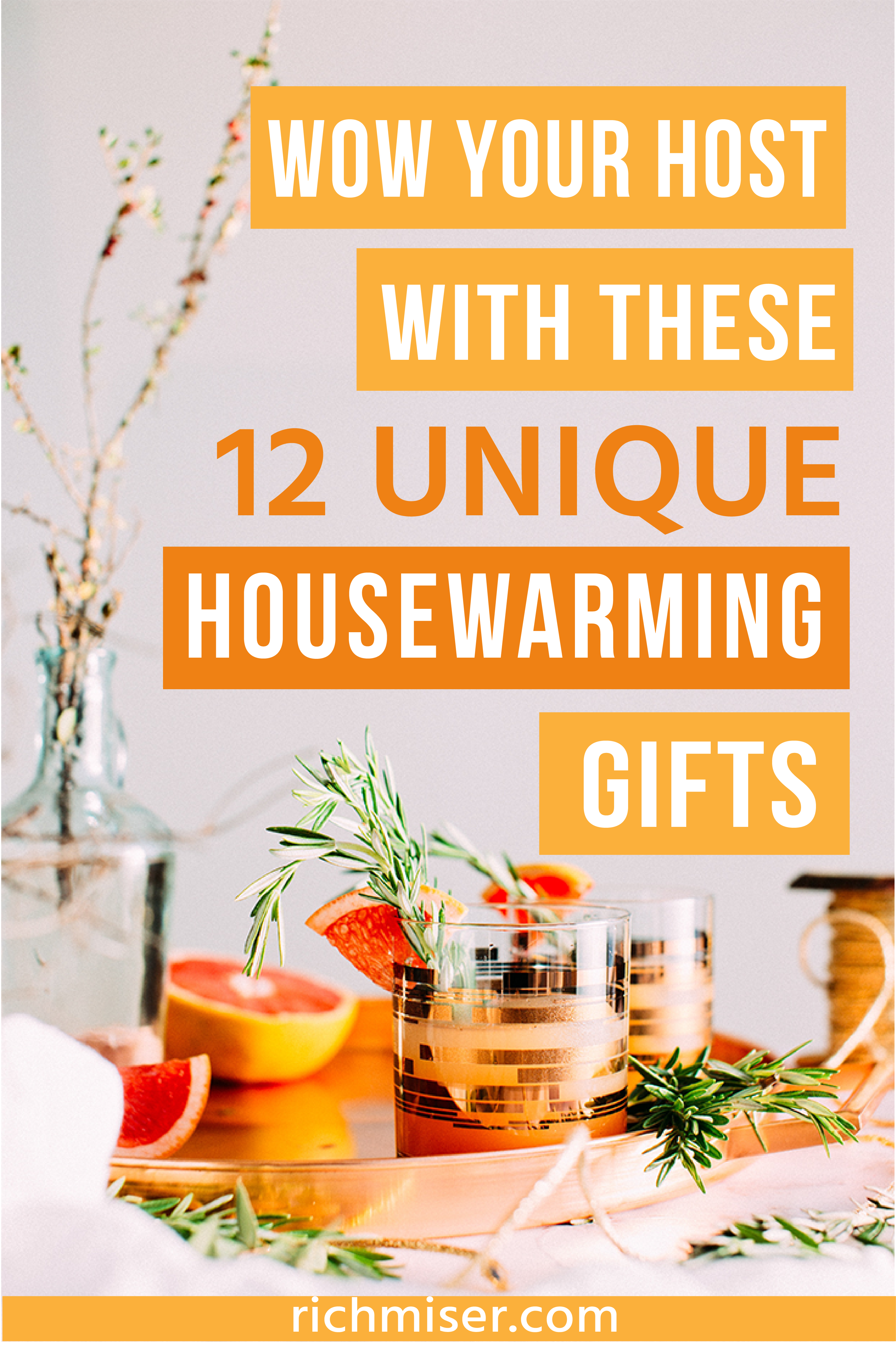 Wow Your Host With These 12 Unique Housewarming Gifts. housewarming gift basket housewarming gift ideas housewarming gift DIY housewarming gift for guy ...  sc 1 st  Pinterest & Wow Your Host With These 12 Unique Housewarming Gifts   Group Board ...