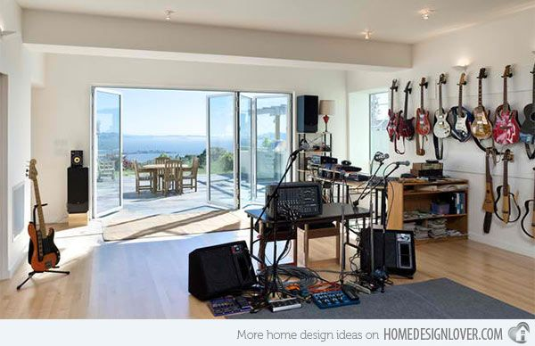 15 Design Ideas for Home Music Rooms and Studios | Pinterest ...