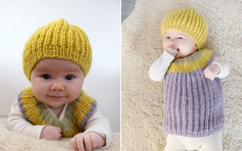 Sweetie-pie-kit - Pickles *Free Pattern | Knit♡Baby♡Hats | Pinterest