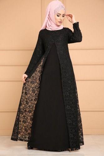 Gupur Hirka Gorunumlu Tesettur Abiye Smt3000 S Bordo Moda Selvim Abayas Fashion Abaya Fashion Dubai Modern Hijab Fashion