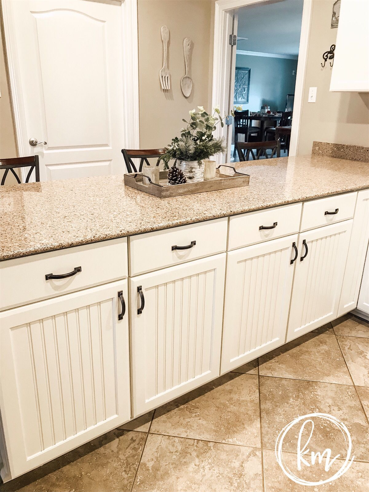 Painted Kitchen Cabinets Sherwin Williams Dover White Beadboard Kitchen New Kitchen Cabinets Kitchen Design