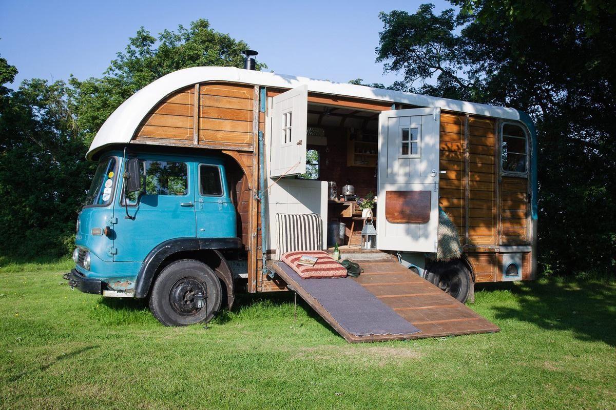 12 Strange But Completely Amazing Hotels Around The World Horse Box Conversion Horse Box House On Wheels
